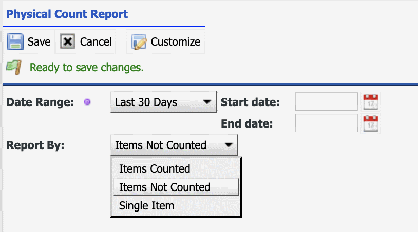 How to Track Inventory Physical Counts in Calem