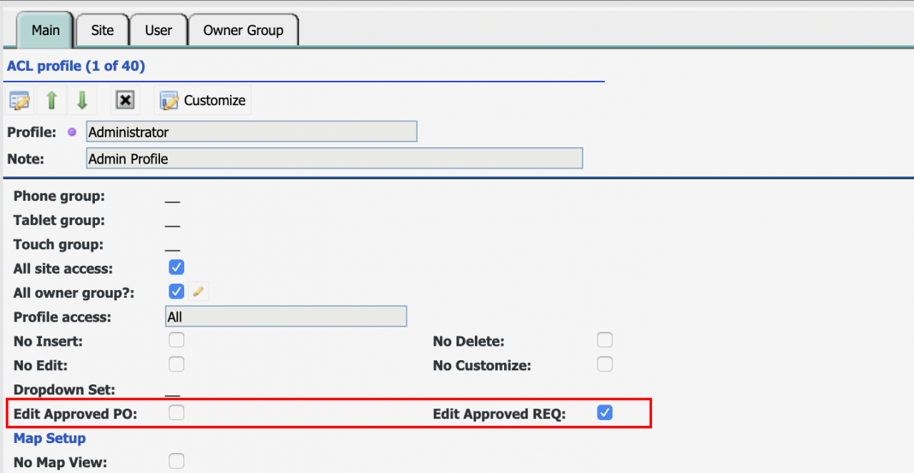 How to Enable Editing for Approved POs and REQs