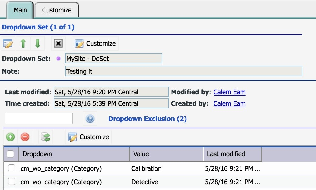Custom Dropdown Set